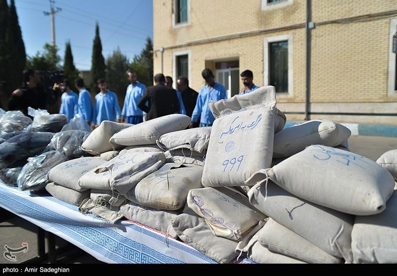۳۷ تن انواع مواد مخدر در اصفهان کشف شد